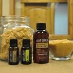 Recept - Maak je eigen essentiële olie scrub